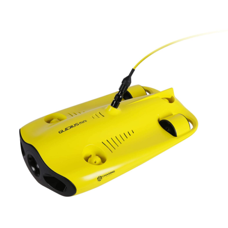 CHASING Gladius Mini Underwater Drone With 4K HD Camera 2 Hours Working Time One Key Depth Hold Live Stream Diving Rescue RC Drone